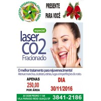 Laser CO2 fracionado Sellas
