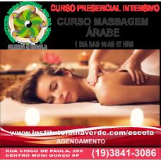 Curso Massagem Arabe