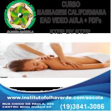 Curso Massagem Californiana Step By Step EAD