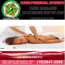 Curso Massagem Californiana Step By Stp