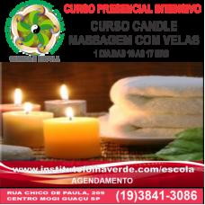 Curso Candle Massage- Massagem Com Velas