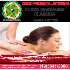 Curso Massagem Clássica