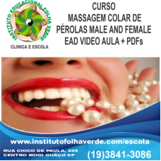 Curso Massagem Colar de Perolas Male and Female EAD