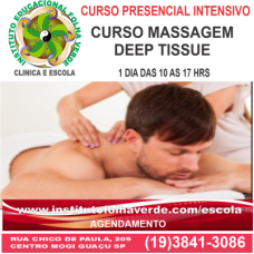 Curso Massagem Deep