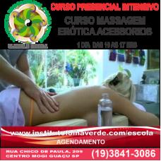 Curso Massagem Erotica com Acessórios