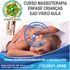 Curso Massoterapia Enfase Crianças EAD