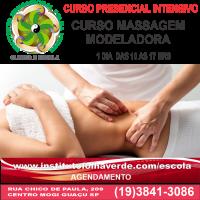 Curso Massagem Modeladora