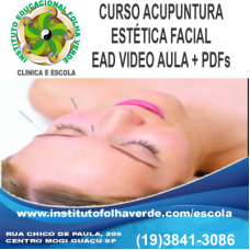 Curso Acupuntura Estética Facial EAD
