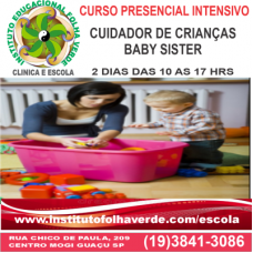 Curso Cuidador de Crianças