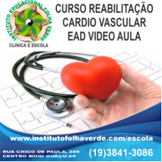 Curso Reabilitação  Cardio Vascular EAD