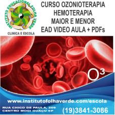 Curso  Ozonioterapia na  Hemoterapia EAD