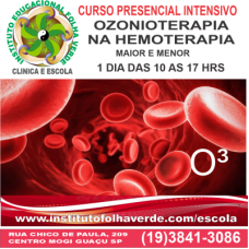 Curso  Ozonioterapia na  Hemoterapia