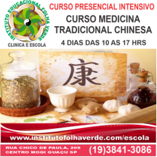 Curso MTC- Medicina Tradicional Chinesa