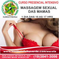 Curso Massagem Sexual das Mamas