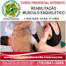 Curso Reabilitação Musculo Esquelético