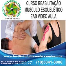 Curso Reabilitação  Musculo Esqueletico EAD