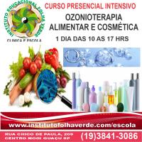 Curso Ozonioterapia Alimentar e Cosmetica