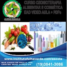 Curso Ozonioterapia Alimentar e Cosmetica EAD