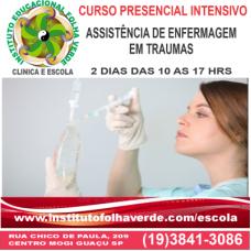 Curso Assistência de Enfermagem em Traumas