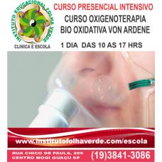 Curso Oxigenoterapia Bioxidativa Von Ardenne