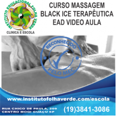 Curso Massagem Sensual Black Ice EAD
