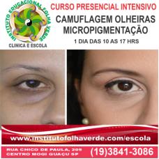 Curso Micropigmentação Camuflagem de Olheiras