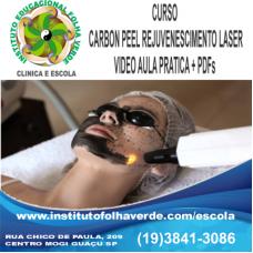 Curso Carbon Laser  Pell Rejuvenescimento a laser EAD
