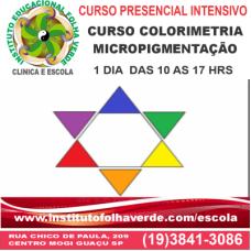 Curso Colorimetria para Micropigmentação