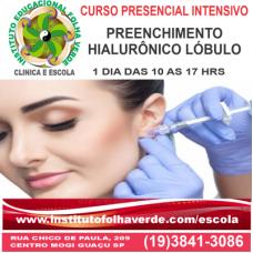 Curso Preenchimento Hialurônico Lóbulo Auricular EAD