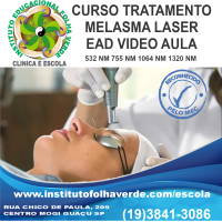 Curso Tratamento  Melasma Laser EAD