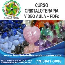 Curso Cristaloterapia EAD