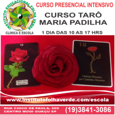 Curso Taro  Maria Padilha