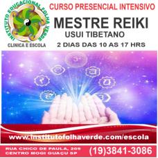 Curso Mestre Reiki Usui Tibetano