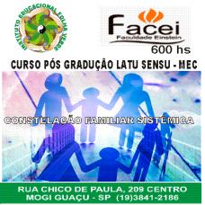 Curso Pos Graduação Latu Sensu Constelação Familiar Sistêmica