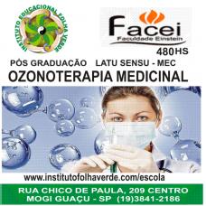 Curso Pos Graduação Latu Sensu Ozonioterapia