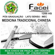 Curso Pos Graduação Latu Sensu Medicina Tradicional Chinesa - MTC