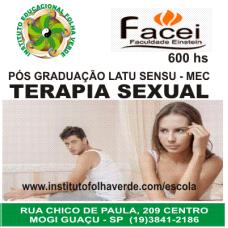 Curso Pos Graduação Latu Sensu Terapia Sexual
