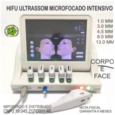 Aparelho HIFU Ultrasom Microfocado Intensivo