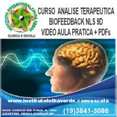 Curso Analise Terapêutica Biofeedback NSL 9D EAD